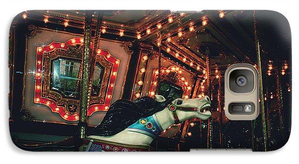 Galaxy Case featuring the photograph Midnight Dream by Rachel Mirror