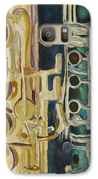 Midnight Duet Galaxy S7 Case by Jenny Armitage