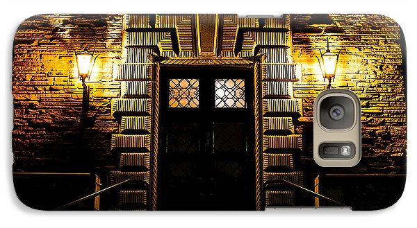 Galaxy Case featuring the photograph Midnight Entryway by Rhys Arithson
