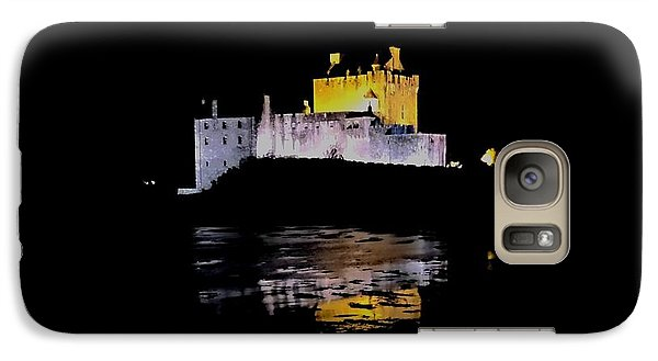 Galaxy Case featuring the photograph Midnight Fortress by Andy Heavens