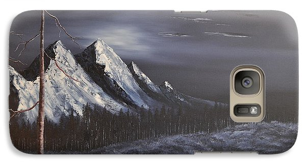 Galaxy Case featuring the painting Midnight by Stuart Engel