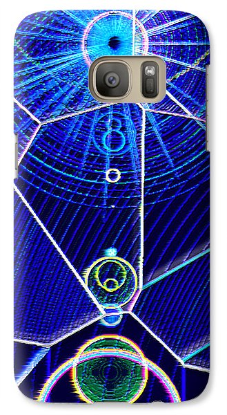 Galaxy Case featuring the mixed media Midori Sunrise by Carl Hunter