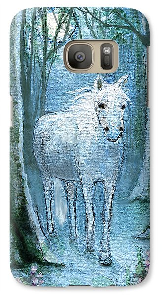 Galaxy Case featuring the painting Midsummer Dream by Terry Webb Harshman