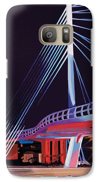 Galaxy Case featuring the painting Midtown Greenway Sabo Bridge by Jude Labuszewski