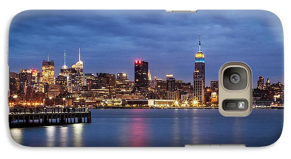 Galaxy Case featuring the photograph Midtown Manhattan by Mihai Andritoiu