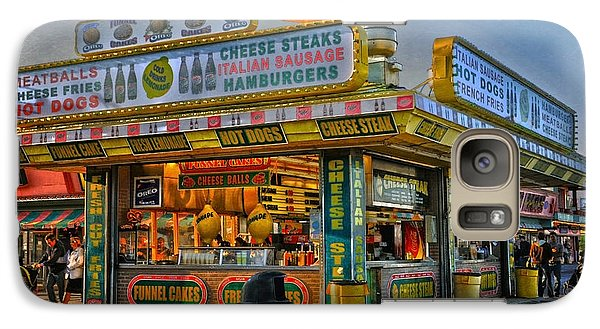 Galaxy Case featuring the photograph Midway Steak House by Debra Fedchin