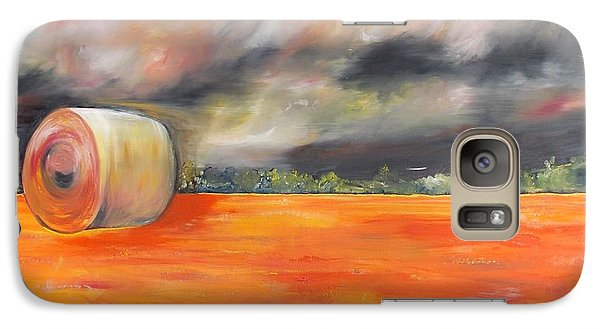 Galaxy Case featuring the painting Midwest Grandeure by PainterArtist FIN