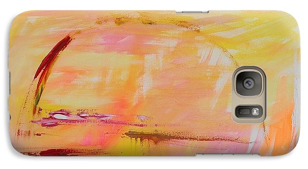 Galaxy Case featuring the painting Midwest Sunrise by PainterArtist FIN