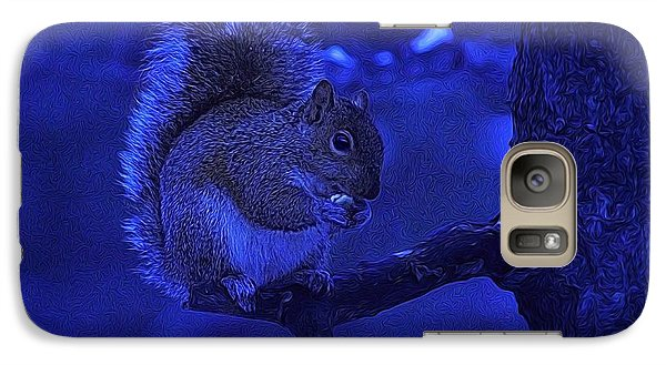 Galaxy Case featuring the photograph Midwinter Snack by Dennis Lundell