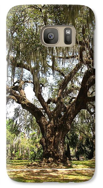 Galaxy Case featuring the photograph Mighty Oak by Beth Vincent