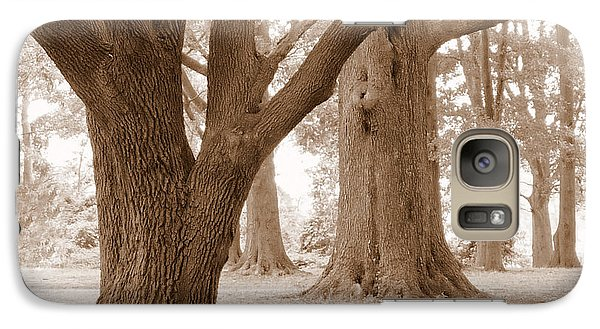 Galaxy Case featuring the photograph Mighty Oaks by Jim Whalen