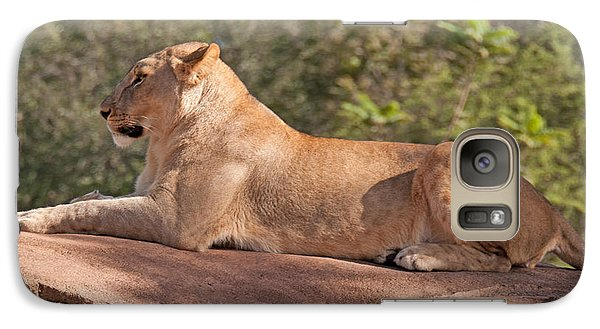 Galaxy Case featuring the photograph Mighty Queen Of The Jungle by John Black