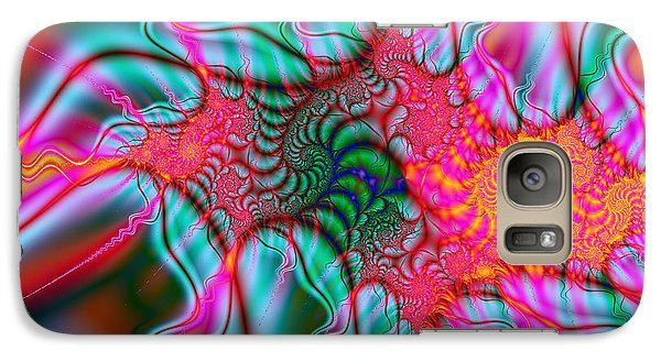 Galaxy Case featuring the digital art Migraine by Elizabeth McTaggart