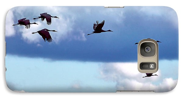 Galaxy Case featuring the photograph Migration by Adam Olsen