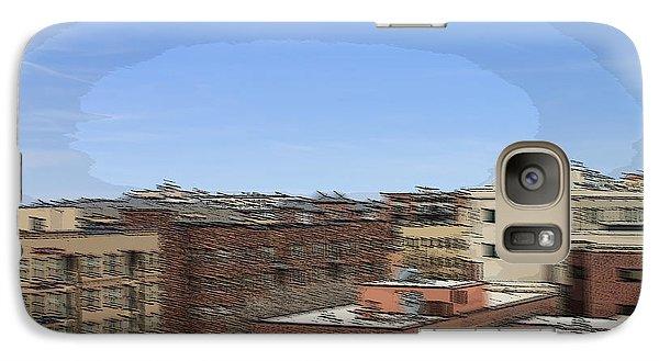 Galaxy Case featuring the photograph Mile High Denver by Barbara Giordano