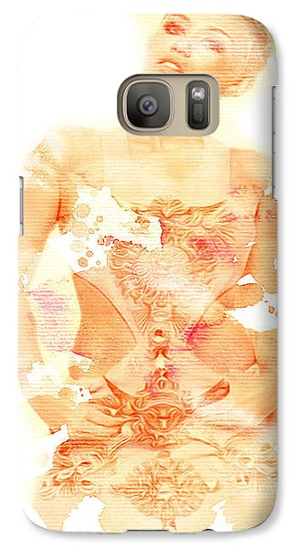 Galaxy Case featuring the digital art Miley by Brian Reaves