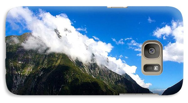 Galaxy Case featuring the photograph Milford Sound #2 by Stuart Litoff