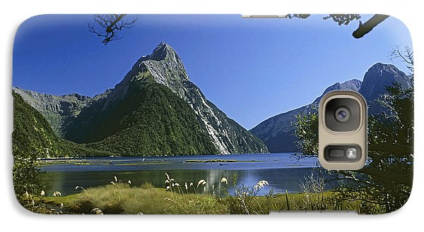 Galaxy Case featuring the photograph Milford Sound  New Zealand by Rudi Prott
