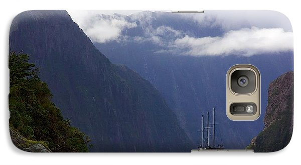 Galaxy Case featuring the photograph Milford Sound by Stuart Litoff