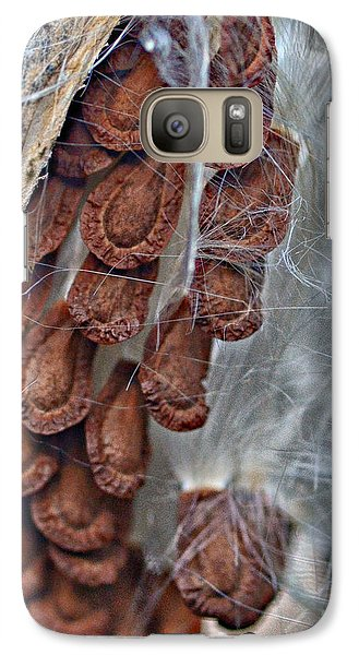 Galaxy Case featuring the photograph Milkweed by JRP Photography