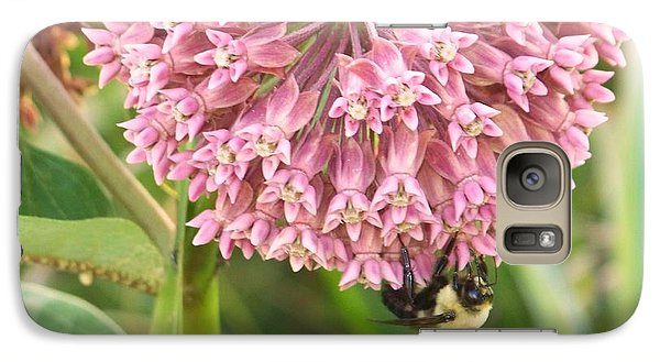Galaxy Case featuring the photograph Milkweed by Shirley Moravec