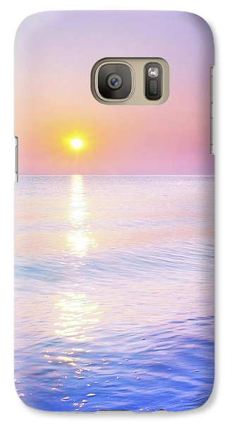 Galaxy Case featuring the photograph Milky Sunset by Lilia D