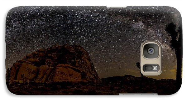 Milky Way Over Joshua Tree Galaxy S7 Case