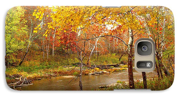 Galaxy Case featuring the photograph Mill Creek 1 by Jim McCain