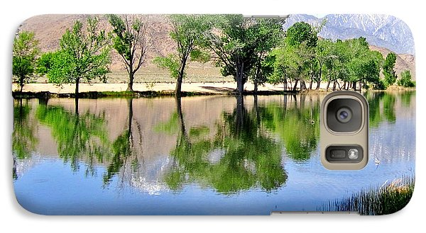 Galaxy Case featuring the photograph Mill Pond by Marilyn Diaz