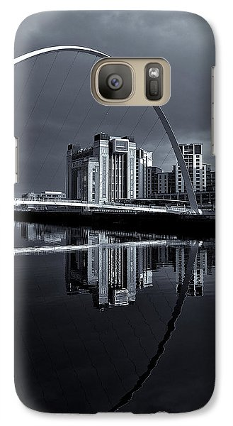 Galaxy Case featuring the photograph Millenium Bridge by Stephen Taylor
