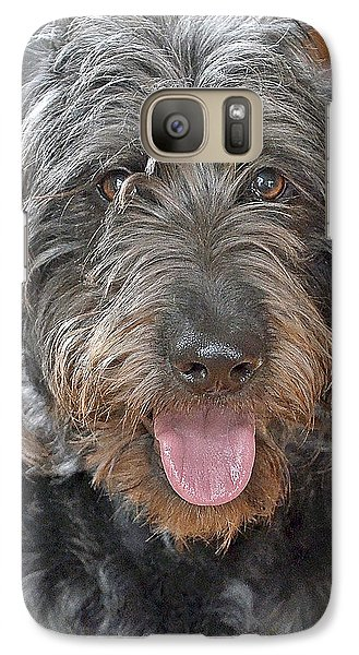 Galaxy Case featuring the photograph Milo by Lisa Phillips