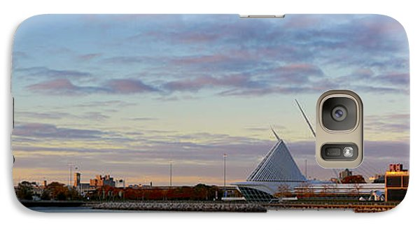 Galaxy S7 Case featuring the photograph Milwaukee At Sunrise  by Ricky L Jones