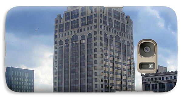 Galaxy Case featuring the photograph Milwaukee Skyline by Nancy Kane Chapman