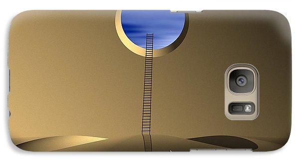 Galaxy Case featuring the digital art Mind Well by John Alexander