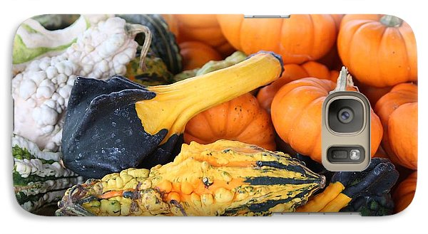 Galaxy Case featuring the photograph Mini Pumpkins And Gourds by Cynthia Guinn