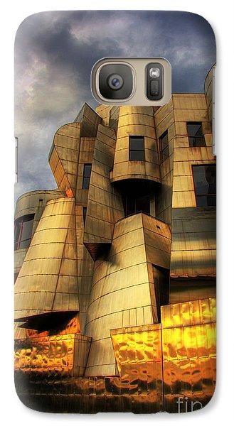 Minneapolis Skyline Photography Weisman Museum Galaxy S7 Case by Wayne Moran