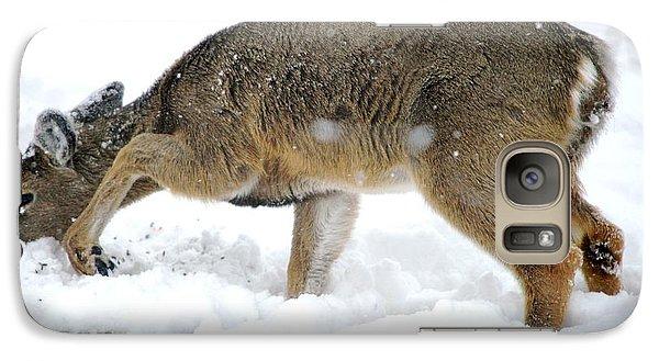Galaxy Case featuring the photograph Minnesota Winter Struggles by Dacia Doroff
