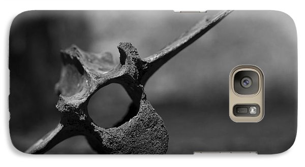Galaxy Case featuring the photograph Miocene Fossil Whale Vertebra by Rebecca Sherman