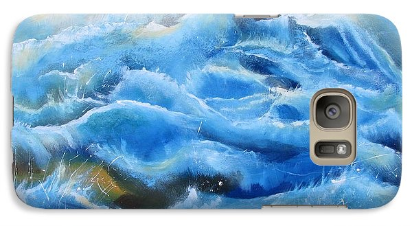 Galaxy Case featuring the painting Miracles by Nereida Rodriguez