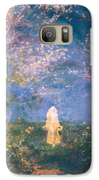 Galaxy Case featuring the photograph Mirage by Judith Morris
