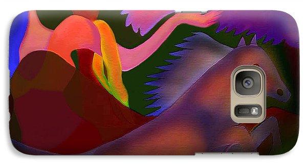 Galaxy Case featuring the digital art Mirage by Latha Gokuldas Panicker