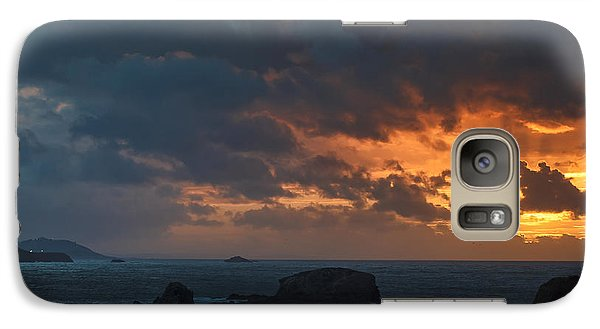 Galaxy Case featuring the photograph Mirandas Islands Galicia Spain by Pablo Avanzini