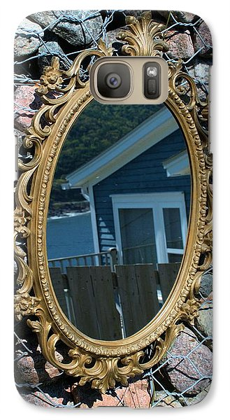 Galaxy Case featuring the photograph Mirror by Douglas Pike