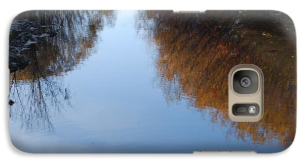 Galaxy Case featuring the photograph Mirror Image by Ramona Whiteaker