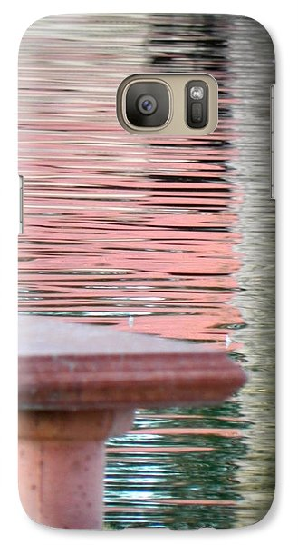 Galaxy Case featuring the photograph Mirror To The Soul by Deb Halloran