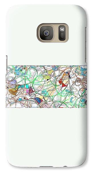 Galaxy Case featuring the digital art Mishagas by Gabrielle Schertz