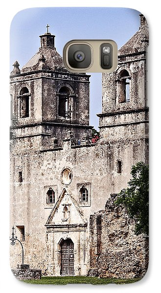 Galaxy Case featuring the photograph Mission Concepcion by Andy Crawford