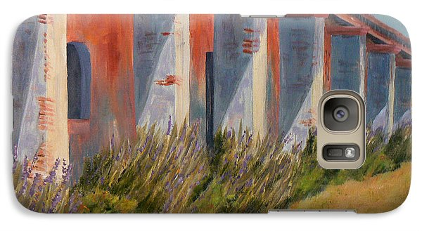 Galaxy Case featuring the painting Mission Lavender by Terry Taylor