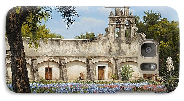 Galaxy Case featuring the painting Mission San Juan by Kyle Wood