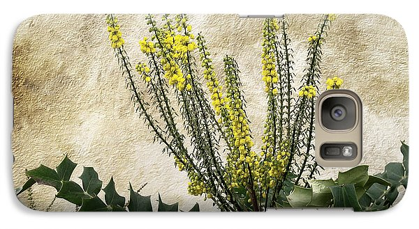 Galaxy Case featuring the photograph Mission Wallflower by Ellen Cotton